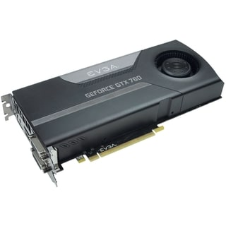 EVGA GeForce GTX 760 Graphic Card - 980 MHz Core - 2 GB GDDR5 SDRAM -