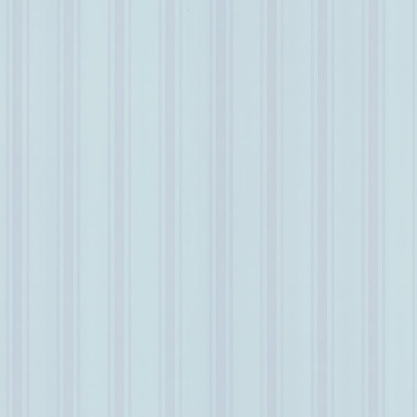 Brewster Blue Stripes Wallpaper