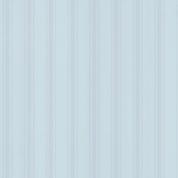 Brewster Blue Stripes Wallpaper