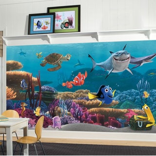 Finding Nemo Prepasted Ultra-strippable Mural (6' x 10.5')