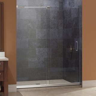 DreamLine Mirage Frameless Sliding Shower Door and 36x48-inch Shower Base