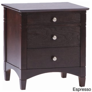 Essex 3-Drawer Nightstand