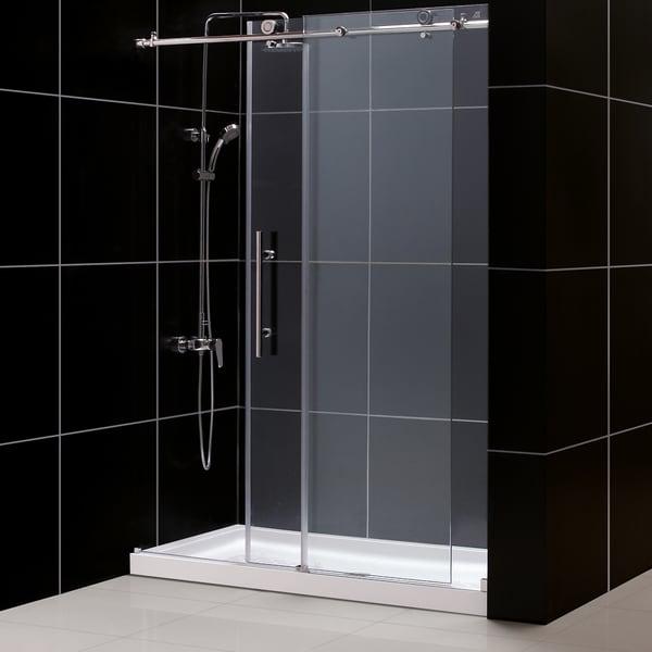 Dreamline Enigma X Frameless Sliding Shower Door And 30x60