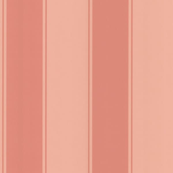 Brewster Pink Stripe Wallpaper