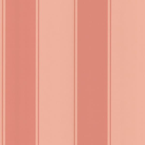 Brewster Pink Stripe Wallpaper