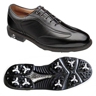 FootJoy Men's 'Icon' Black Stingray Golf Shoes