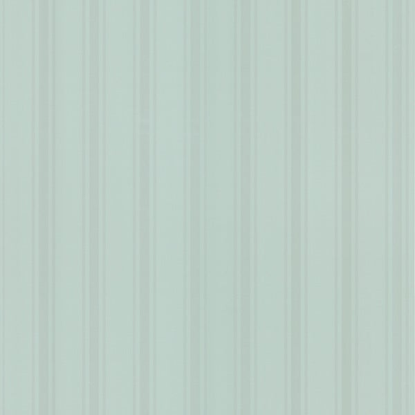 Brewster Green/ White Stripes Wallpaper