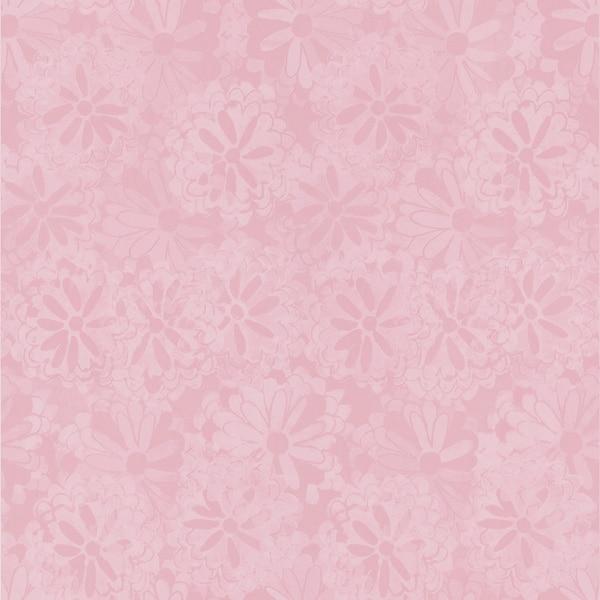 Brewster Pink Floral Texture Wallpaper