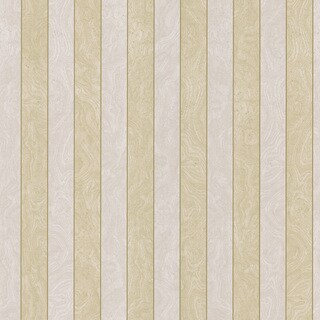 Brewster Taupe Stripes Pre-pasted Wallpaper