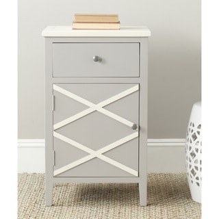 Safavieh Alan Grey/ White End Table