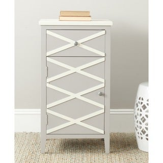 Safavieh Brandy Grey/ White Small Cabinet