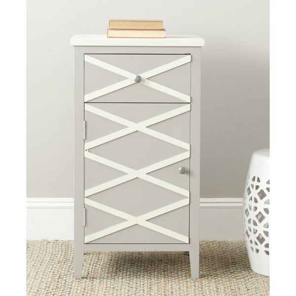 Safavieh Brandy Grey/ White Storage Small Cabinet