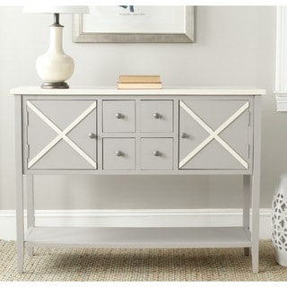 Safavieh Adrienne Grey/ White Storage Sideboard