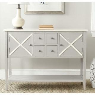 Safavieh Adrienne Grey/ White Storage Sideboard