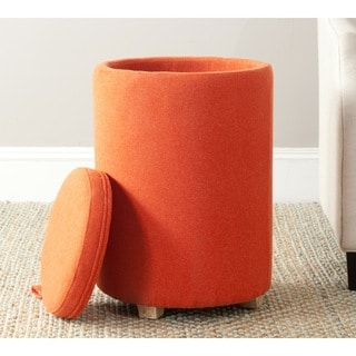 Safavieh Jeannie Burnt Orange End Table