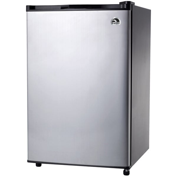 Igloo 4.6 Cubic Feet Stainless Steel Door Refrigerator