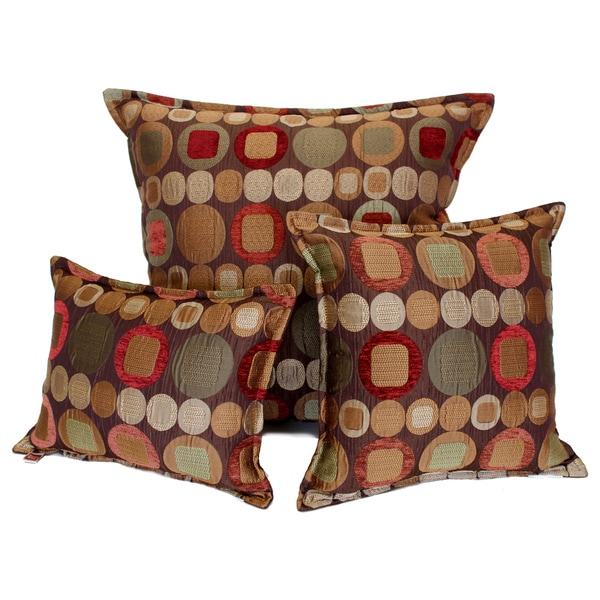 Sherry Kline Metro Spice Pillows (Set of 3)