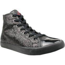 Women's Burnetie High Top Metallic Black