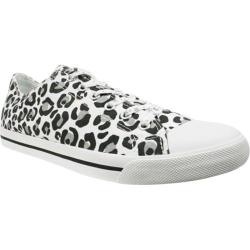 Women's Burnetie Ox Animal Print Lily White