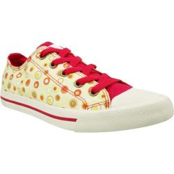 Women's Burnetie Ox Print Yellow/Red