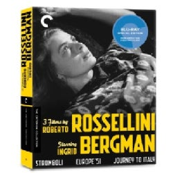 3 Films By Roberto Rossellini Starring Ingrid Bergman Box Set (Blu-ray Disc)