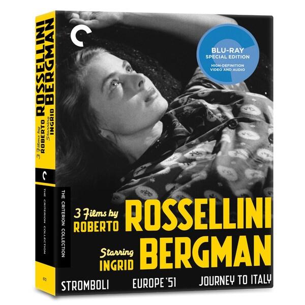 3 Films By Roberto Rossellini Starring Ingrid Bergman Box Set (Blu-ray Disc) 11338978