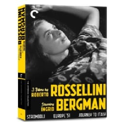 3 Films By Roberto Rossellini Starring Ingrid Bergman Box Set (DVD)