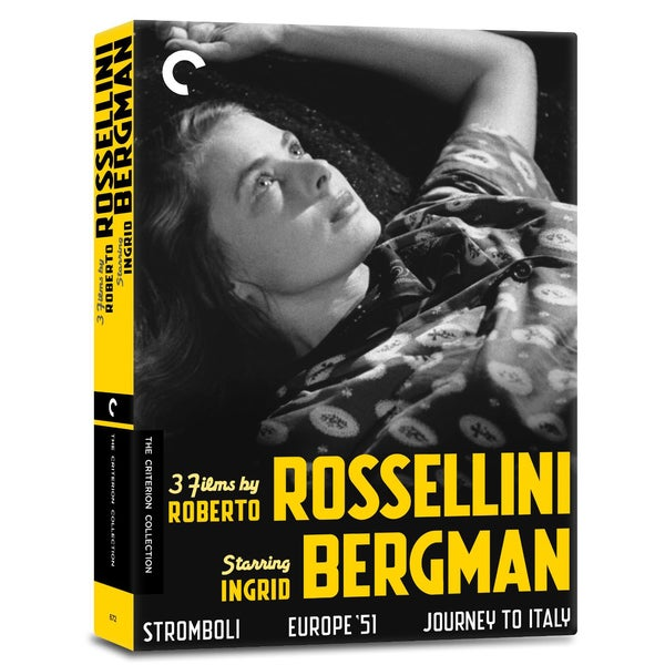 3 Films By Roberto Rossellini Starring Ingrid Bergman Box Set (DVD) 11338979