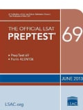 Official Lsat Preptest 69: June 2013 Lsat (Paperback)