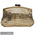 J Furmani Crystal and Metal Mesh Evening Bag