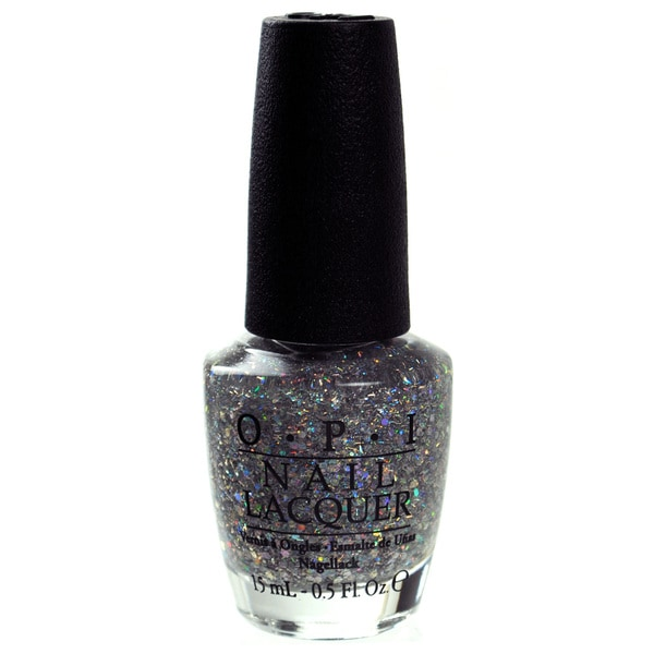 OPI Great and Powerful Oz Collection Which is Witch? Silver Glitter Nail Lacquer