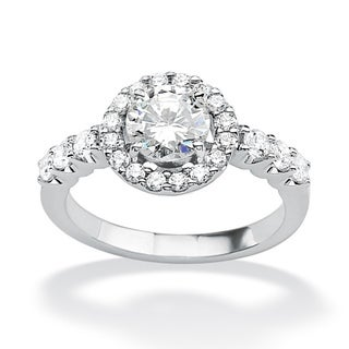 Ultimate Round Cubic Zirconia Anniversary Ring