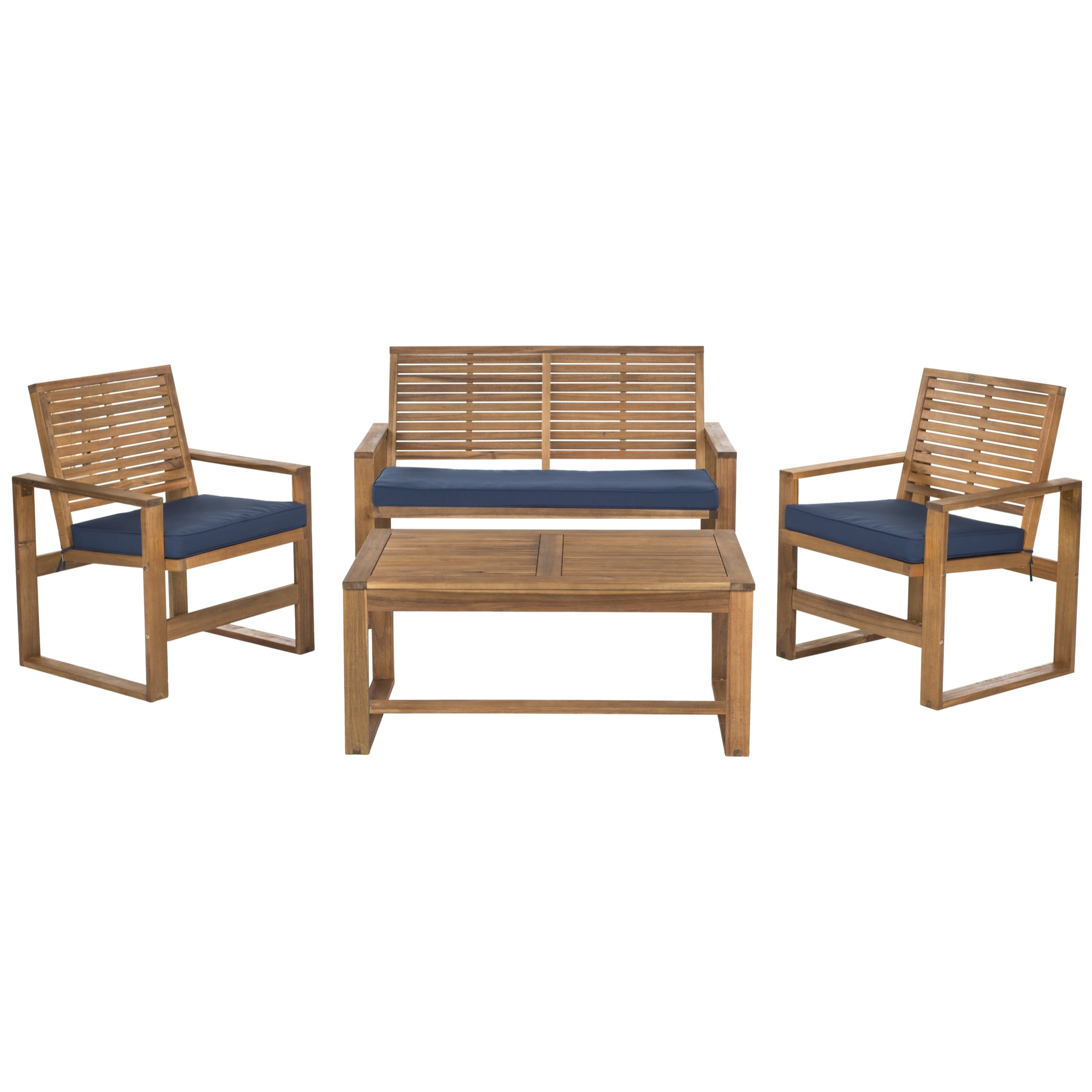 wood patio furniture overstock shopping outdoor