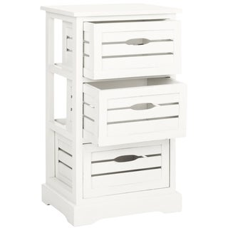 Safavieh Samara Grey Storage 3-Drawer Cabinet