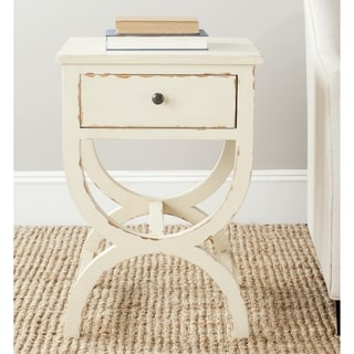 Safavieh Maxine Disstressd Vanilla End Table