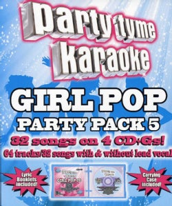 Various - Party Tyme Karaoke: Girl Pop Party Pack 5
