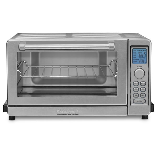 Cuisinart TOB-135 Brushed Stainless Steel Deluxe Convection Toaster Oven Broiler 11345457