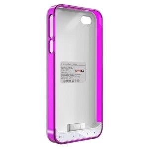 MOTA iPhone 4/4s Extended Battery Case - Pink