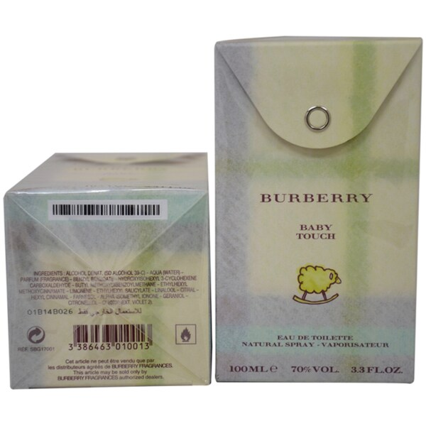 Burberry Baby Touch Women's 3.3-ounce Eau de Toilette Spray