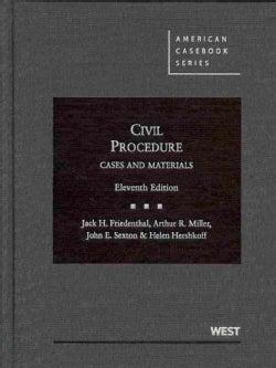 Civil Procedure: Cases and Materials (Hardcover)
