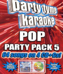 Various - Party Tyme Karaoke: Pop Party Pack 5