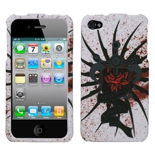 BasAcc Lizzo/ Bloody Rose Phone Case for Apple iPhone 4S/ 4