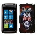 BasAcc Lightning Skull Phone Case for HTC Surround