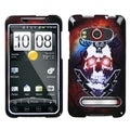 BasAcc Lightning Skull Phone Case for HTC EVO 4G