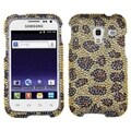 BasAcc Leopard Skin/ Camel Diamante Case for Samsung R820