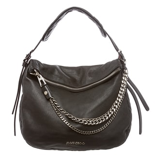Jimmy Choo Small Black Boho Shoulder Bag