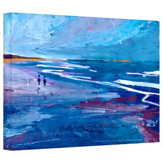 Markus Bleichner 'California Seascape Near Big Sur' Gallery Wrapped Canvas