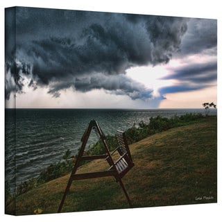 Lora Mosier 'Polterstorm or Thundergeist?' Gallery Wrapped Canvas
