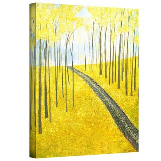Herb Dickinson 'Ginko Hill' Gallery Wrapped Canvas