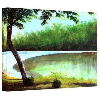 Herb Dickinson 'Carol's Retreat' Gallery Wrapped Canvas